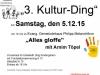 5933 - Kultur-Ding Plakat