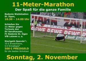 4305 - Flyer 11-Meter-Marathon - Seite 1