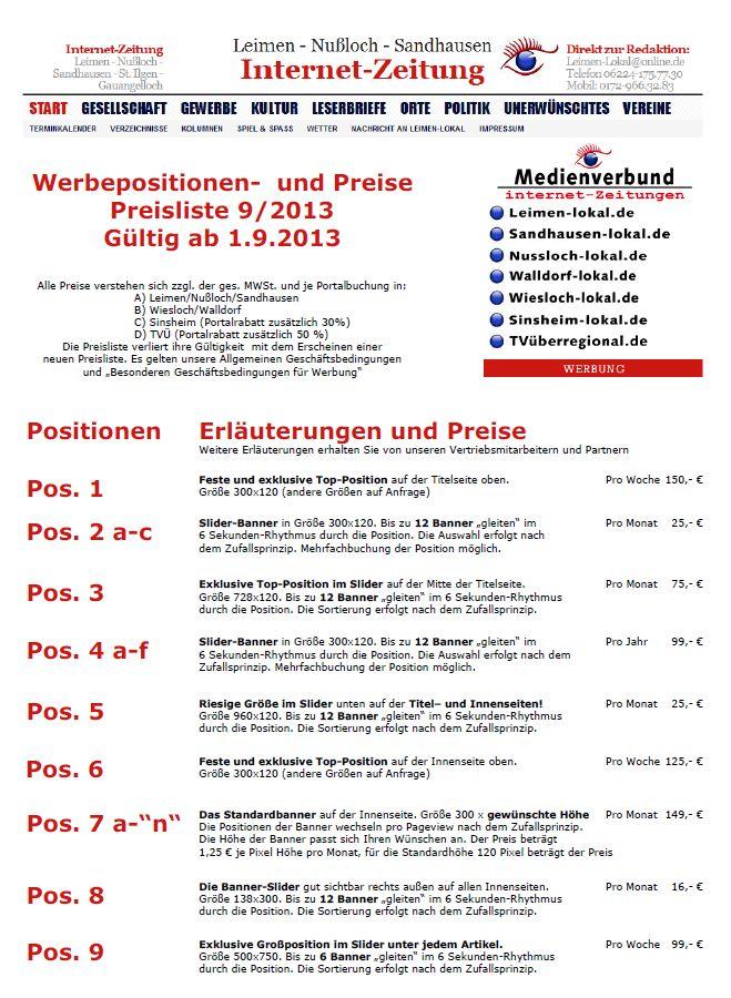 859b - Preisliste 9-2013