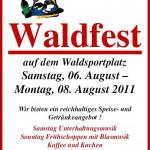 Liedertafel-Waldfest steht vor der Tür!