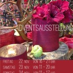 22.-24. November: Adventsausstellung der Blumenwerkstatt