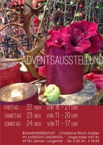 1174 - Blumenwerkstatt Advent