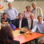 CDU Sommerfest: Wetter + Stimmung wechselhaft. Basis erwartet Antworten aus Berlin