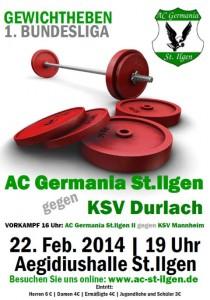 2110 - Gewichtheben gegen Durlach
