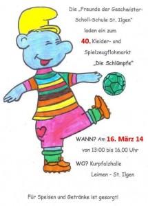 2265 - Flohmarkt Schlümpfe 2014