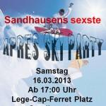 231 - Plakat Apres Ski Party SA