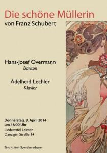2428 - Die schöne Müllerin Plakat
