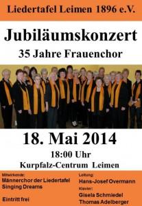 3635 - Plakat Frauenchor