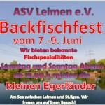 7.-9. Juni – Backfischfest des ASV Leimen