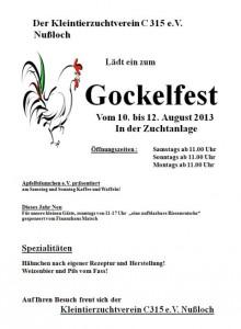 753 - Gockelfest Nussloch