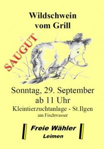 897 - Wildschweinessen FW