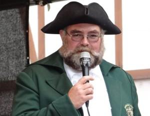 Gekonnte Moderation durch Schlossherr Jürgen