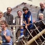 Turmschule erhält neues Klettergerüst – Rektor Klemm dankt Förderverein