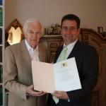 Rudolf Max Thierfelder feierte seinen 90. Geburtstag