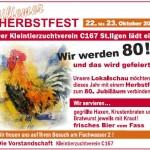 80 Jahre C167 – Großes Herbstfest am 22.+23. Oktober