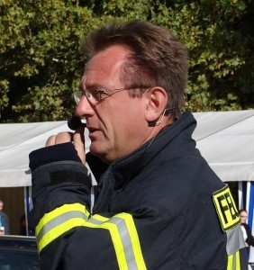Feuerwehrkommandant Armin Nelius
