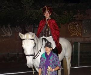 St. Martin hoch zu Pferd