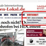 "Rubrik ""Boni & Rabatte"" bei Leimen-Lokal – Lokale Firmen bieten viele Vorteile"