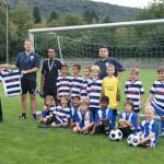 VfB F-Jugend in neuen Trikots