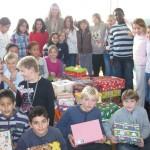 """Aktion """"Weihnachten im Schuhkarton"""" an der Turmschule"""
