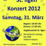 31. März – Konzert Musikverein St. Ilgen