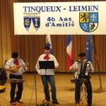 Frankreich-Partnerschaftskomitees feiern kulinarisch-musikalischen Abend