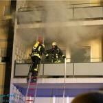 Drei Verletzte bei Zimmerbrand in St. Ilgen