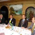 BdS Leimen und Minister Niebel auf der Mittelstandskundgebung