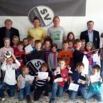 SVS-Spieler zu Besuch in der Theodor-Heuss-Grundschule