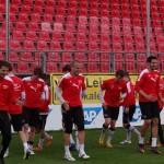 SVS Spieler genießen die letzen 2 Wochen Dritte Liga
