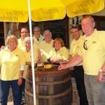 """Vatertag-Ausflugsziele"" gut besucht – TOP: Freie Wähler Lammbraten in Ochsenbach"