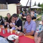 Die Große Koalition: CDU grillt – SPD feiert