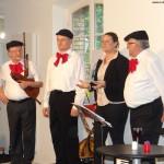 """""""Troubadours"""" Konzert mit vielfältigem Programm und überwältigendem Erfolg!"""
