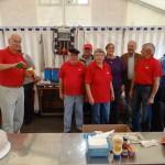 SPD St. Ilgen: Brunnenfest vor der Alten Fabrik