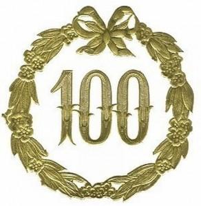 751 - Jubiläum 100