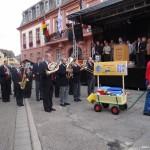 Festumzug zur Eröffnung der 43. Leimener Weinkerwe