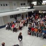 """Ausstellung """"Zeitfang"""" im Kurpfalzcentrum eröffnet"""