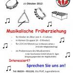 """""""Musikalische Früherziehung"""" – Noch Plätze frei!"""