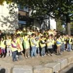 ADAC Sicherheitswesten für Schulanfänger der Geschwister-Scholl-Schule
