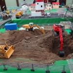 """Großbaustelle """"Weidweg"""": Massiver Maschineneinsatz am Wochenende"""