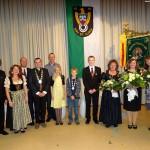Die Sportschützen St. Ilgen krönten ihre neue Königsfamilie – Ehrung verdiente Mitglieder
