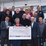 Baufinanz und Partner spenden 22.000 € an Tafeln Leimen/Sandhausen und Sozialfonds