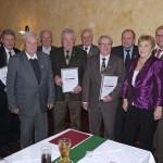 MGV Sängerbund Gauangelloch ehrt langjährige Mitglieder auf der Winterfeier
