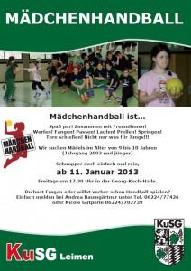 0009 - KuSG Maedchenhandball