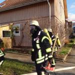 Zimmerbrand in Leimener Holzhaussiedlung geht glimpflich aus: Keine Verletzten