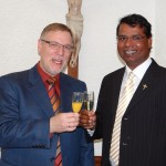 Katholische und evangelische Kirche begrüßten gemeinsam das neue Jahr