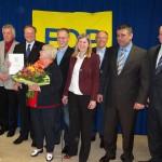 Bundesminister Dirk Niebel auf dem Neujahrsempfang der FDP Sandhausen