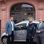 """Stadt Leimen testet """"elektromobil"""" – 140 km Reichweite für 4,50 €"""