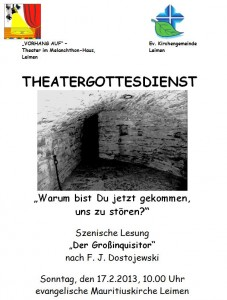 130 - Theatergottesdienst