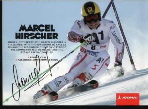 156 - Autogramm Marcel Hirscher